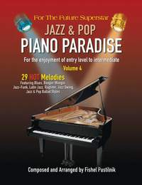 Pustilnik, Fishel: Jazz & Pop Piano Paradise vol 4