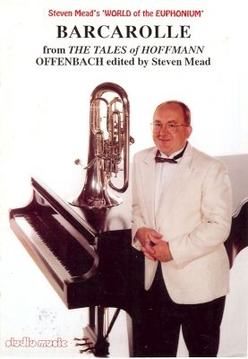 Offenbach: Barcarolle from the Tales of Hoffman arr. Mead (treble/bass clefs with piano)