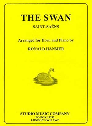 Saint-Saens: The Swan, arr. Hanmer (horn in Eb/F with piano)