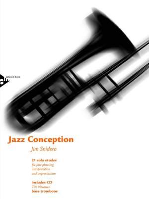 Snidero, J: Jazz Conception for Trombone