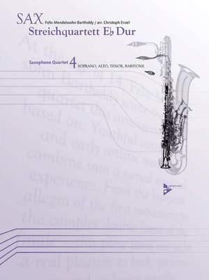 Mendelssohn: Streichquartett Eb Dur