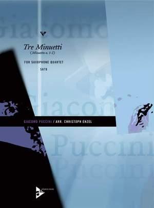 Puccini, G: Tre Minuetti
