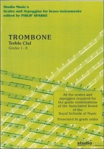 Sparke: Scales and Arpeggios for Trombone (Treble Clef)
