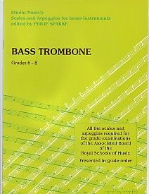 Sparke: Scales and Arpeggios for Bass Trombone