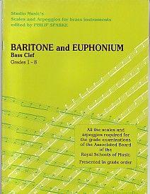 Sparke: Scales and Arpeggios for Baritone/Euphonium (Bass Clef)