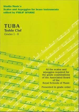Sparke: Scales and Arpeggios for Tuba (Treble Clef)