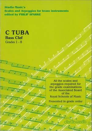 Sparke: Scales and Arpeggios for C Tuba (Bass Clef)