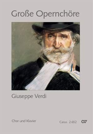 Verdi: Chorbuch Große Opernchöre - Giuseppe Verdi (Chor & Klavier)