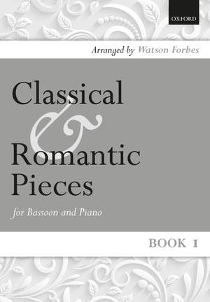 Classical and Romantic Pieces for bassoon and piano Book 1
