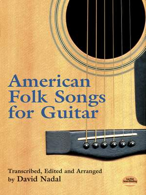 American Folk Songs For Guitar (Nadal D.)