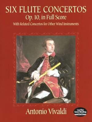Antonio Vivaldi: Six Flute Concertos Op.10 In Full Score