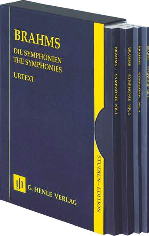 Brahms, J: The Symphonies - 4 Volumes in a Slipcase