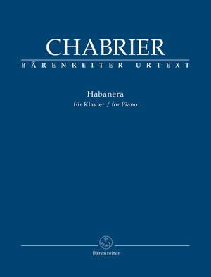 Chabrier: Habanera for Piano