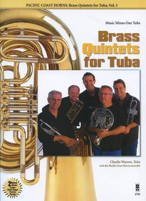 Pacific Coast Horns: Brass Quintets For Tuba - Volume 3 Product Image