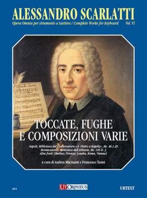 Scarlatti, A: Complete Works for Keyboard Vol.6