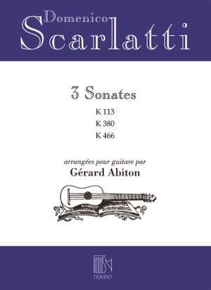 Scarlatti: 3 Sonates