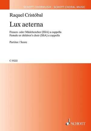 Cristóbal, R: Lux aeterna