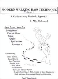 Richmond, M: Modern Walking Bass Technique