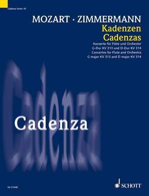 Zimmermann, B A: Cadenzas