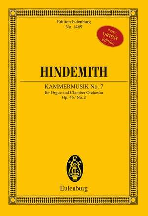 Hindemith, P: Chamber Music No. 7 op. 46/2