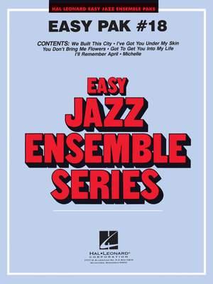 Jerry Nowak: Easy Jazz Ensemble Pak 18