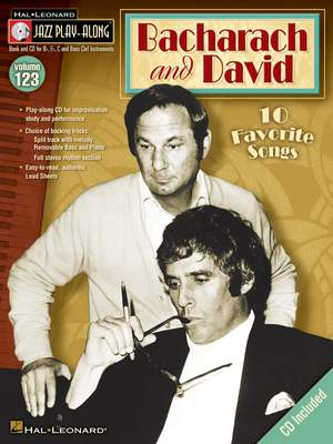 Burt Bacharach_Hal David: Bacharach and David Product Image