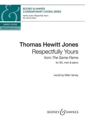 Hewitt Jones, T: Respectfully Yours
