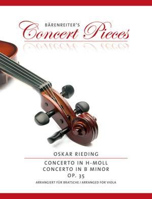Rieding, Oskar: Concerto in B minor op. 35