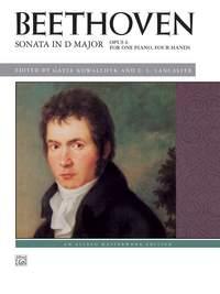 Ludwig van Beethoven: Sonata in D Major, Op. 6