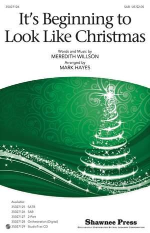 Meredith Willson: It's Beginning to Look Like Christmas