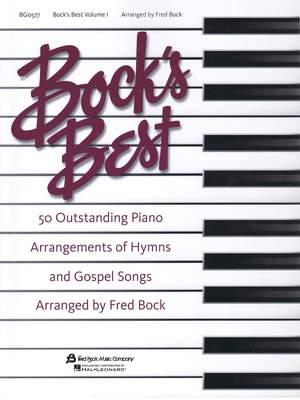Fred Bock: Bock´s Best Piano #1
