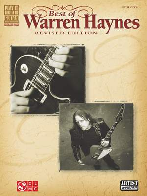 Best of Warren Haynes - Revised Edition Product Image