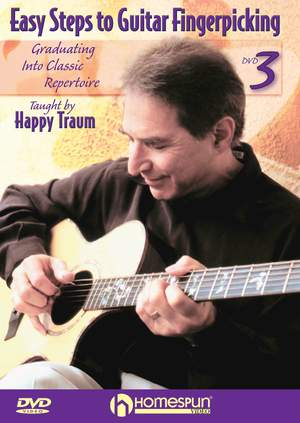 Happy Traum: Easy Steps to Guitar Fingerpicking