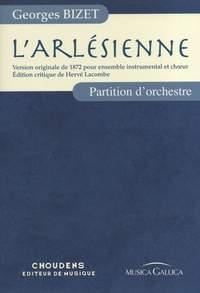 Georges Bizet: L'Arlésienne - Partition d'Orchestre