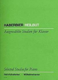 Ernst Haberbier: Selected Studies for Piano