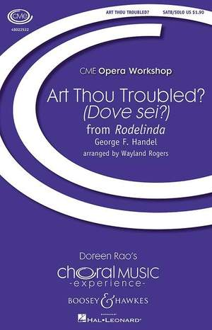 Handel, G F: Art Thou Troubled?