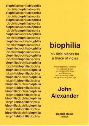 Alexander: biophilia - six little pieces for a brace of violas