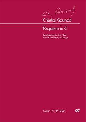Gounod: Requiem in C major arranged for Chamber Orchestra