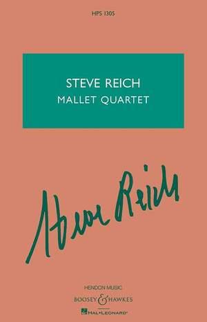 Reich, S: Mallet Quartet
