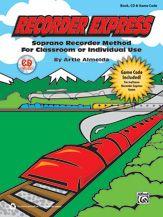 Recorder Express (Book, CD & Game Code)