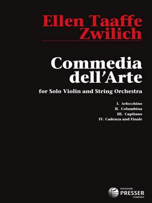 Zwilich, E T: Commedia Dell'Arte