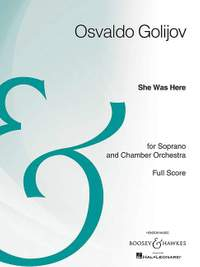 Schubert/Golijov: She Was Here