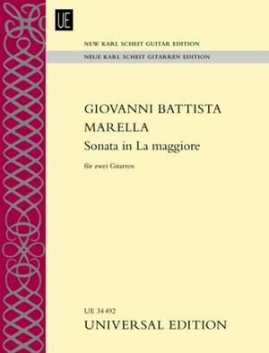 Marella, G B: Sonata in La maggiore