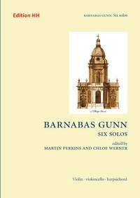 Gunn, B: Six Solos