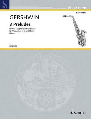 Gershwin, G: 3 Preludes