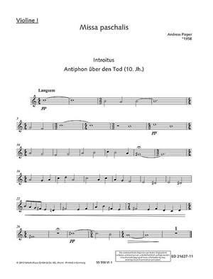 Pieper, A: Missa paschalis