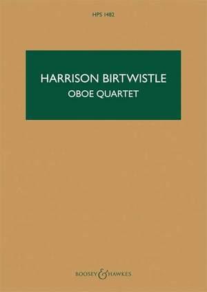 Birtwistle, H: Oboe Quartet