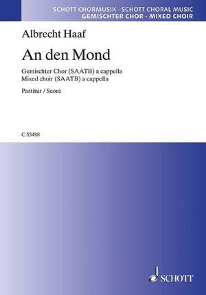 Haaf, A: An den Mond