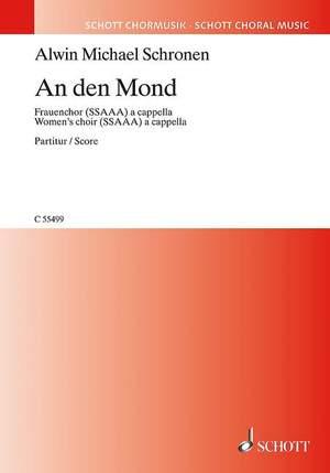 Schronen, A M: An den Mond