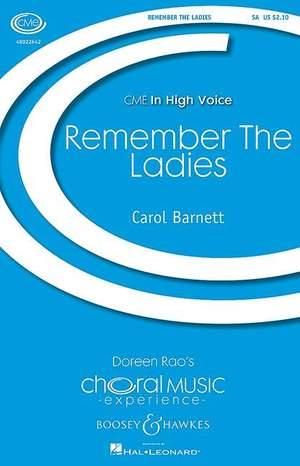 Barnett, C: Remember the Ladies